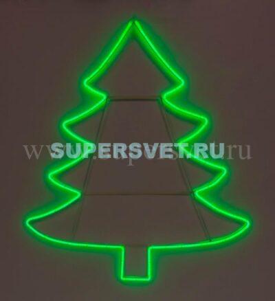 Новогодняя фигура SN-FX-M-ЁЛКА-L-220V-G Мощность 20 Вт Размер 1,15×1,3м Цвет зеленый