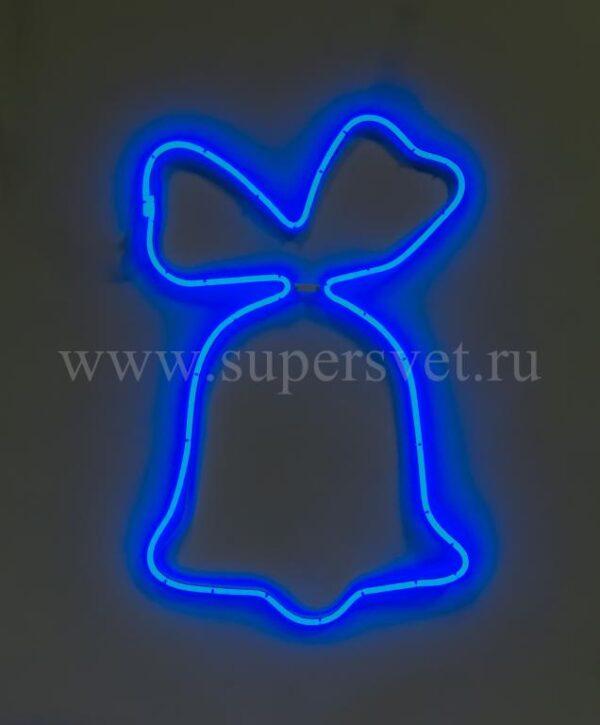 Новогодняя фигура SN-FX-M-КОЛОКОЛЬЧИК-220V-B Мощность 15 Вт Размер 0,75×0,75м Цвет синий