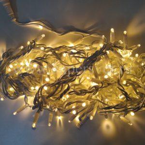 Светодиодная гирлянда LED-PL-BR-200-240V-WW Мощность 12 Вт Длина 20м Напряжение 220 Цвет белый