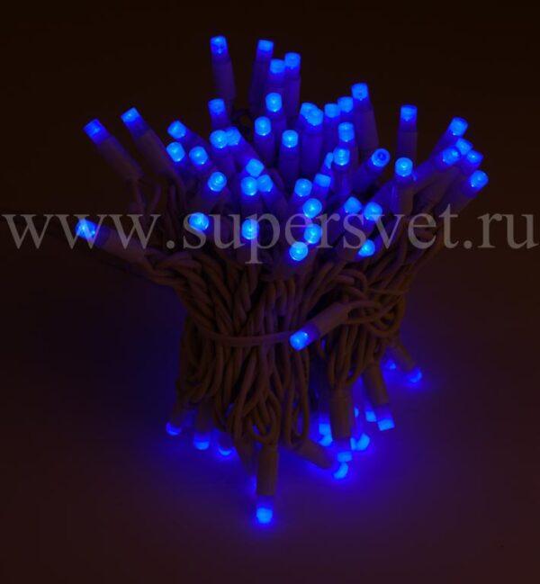 Светодиодная гирлянда стринг лайт NFSL-LED-9.2M-220V-B/BL Мощность 10 Вт Длина 9.2м Напряжение 220 Цвет синий