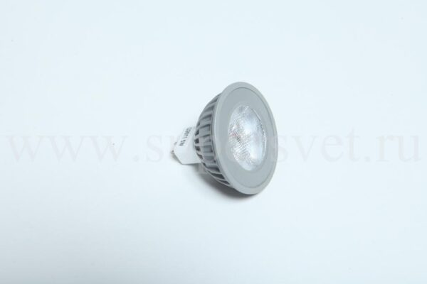 Светодиодная лампа G2611-12V-W Мощность 5 Вт Цоколь MR16 Напряжение 12 Цвет белый