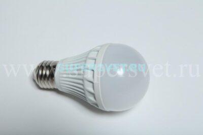 Светодиодная лампа G2671-220V-WW Мощность 7,5 Вт Цоколь Е27 Напряжение 220 Цвет белый