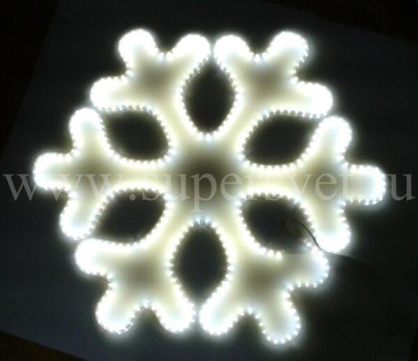 Светодиодная снежинка LED-LT-SNOW-80СМ-220V-W Мощность 29 Вт Размер 0.8 0.7м Цвет белый