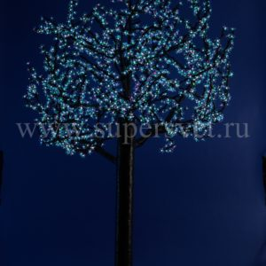 """Светодиодное дерево """"Сакура"""" PHYCL-4.5-RGB Мощность 240 Вт Высота 4,5м Напряжение 36 Цвет РГБ"""