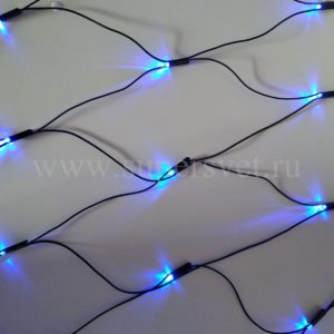 Светодиодная сетка LED-SNL-С-180-24V-B Мощность 13.8 Вт Размер 2,4х1,2 м Цвет синий