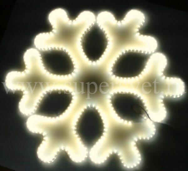 Светодиодная снежинка LED-LT-SNOW- 80 CM-220V-WW Мощность 29 Вт Размер 0.8 0.7м Цвет белый