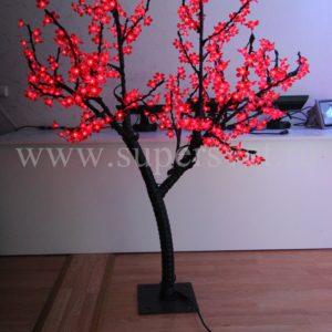"""Светодиодное дерево """"Сакура"""" РHYCL-1.5-R Мощность 30 Вт Высота 1,5м Напряжение 36 Цвет красный"""