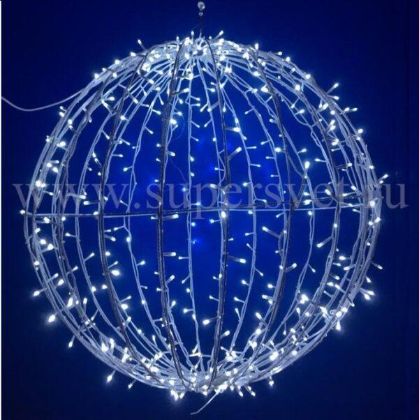 Шар LED-BALL-0,8М-220V Мощность 30 Вт Диаметр 80 см Напряжение 220 Цвет белый
