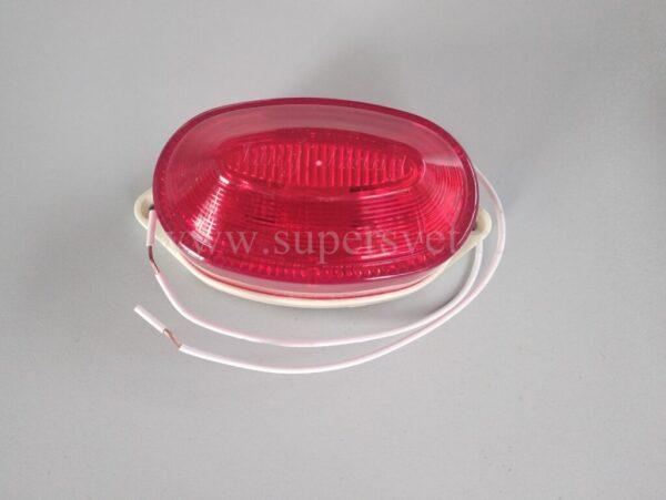 Строб лампа SB-01-R Мощность 2 Вт Цоколь накладная Напряжение 220 Цвет красный