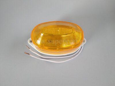 Строб лампа SB-01-Y Мощность 3 Вт Цоколь накладная Напряжение 220 Цвет желтый