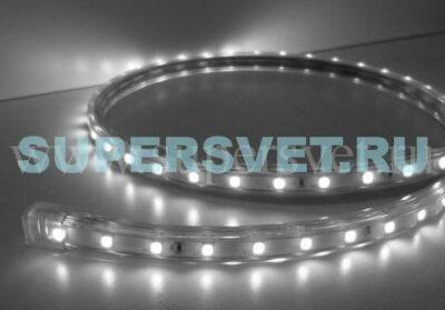 Светодиодная лента Мощность 12 Вт/м Кратность резки 1 м Цвет холодный белый Поперечное сечение 15×6 мм