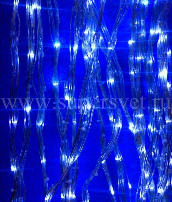 Светодиодный занавес LED-PLWF-560-24V-B Мощность 25 Вт цвет синий Длина основного шнура 1 м Высота