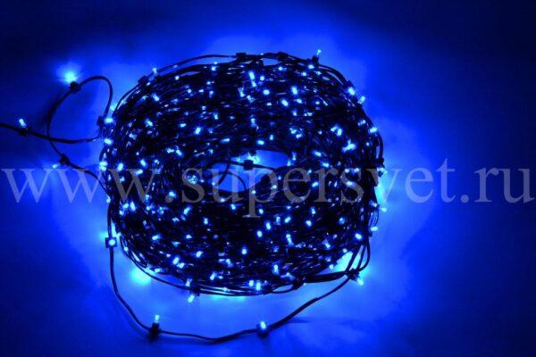 Гирлянда для деревьев клип лайт LED-LP-100-150-12V-B Мощность 90 Вт Длина рулона 100м Напряжение 12 Цвет синий