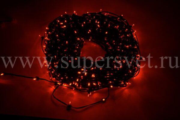 Гирлянда для деревьев клип лайт LED-LP-100-150-12V-R Мощность 90 Вт Длина рулона 100м Напряжение 12 Цвет красный
