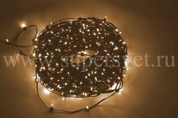 Гирлянда для деревьев клип лайт LED-LP-100-150-12V-WW Мощность 90 Вт Длина рулона 100м Напряжение 12 Цвет теплый белый