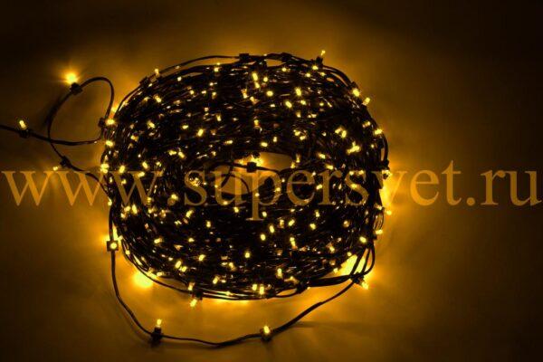 Гирлянда для деревьев LED-LP-100-150-12V-Y Мощность 90 Вт Длина рулона 100м Напряжение 12 Цвет желтый