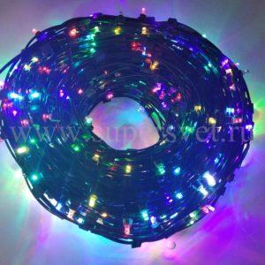 Гирлянда для деревьев LED-LP-15CM-12V-RGB Мощность 90 Вт Длина рулона 100м Напряжение 12 Цвет RGB