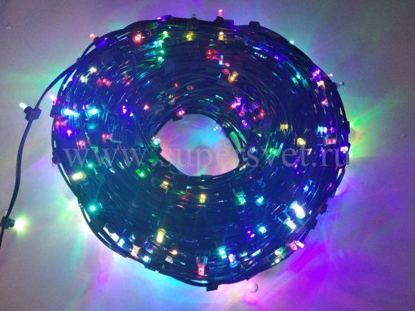Гирлянда для деревьев клип лайт LED-LP-15CM-12V-RGB Мощность 90 Вт Длина рулона 100м Напряжение 12 Цвет RGB