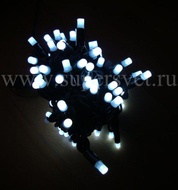 Светодиодная гирлянда NFSL-LED-9.2M-220V-W/BL Мощность 10 Вт Длина 9,2м Напряжение 220 Цвет холодный белый