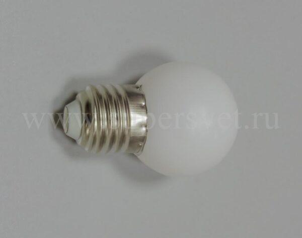 Лампочка для гирлянд белт лайт SLB-LED-A-45-5-WW Мощность 5 Вт Диаметр 4,5 см Напряжение 220 Цвет теплый белый