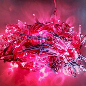 Светодиодная гирлянда LED-PL-BR-200-240V-R Мощность 12 Вт Длина 20м Напряжение 220 Цвет красный