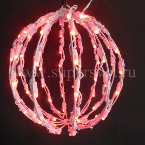 Шар LED-BALL-DIG-0,3М Мощность 10 Вт Диаметр 30 см Напряжение 24 Цвет ргб