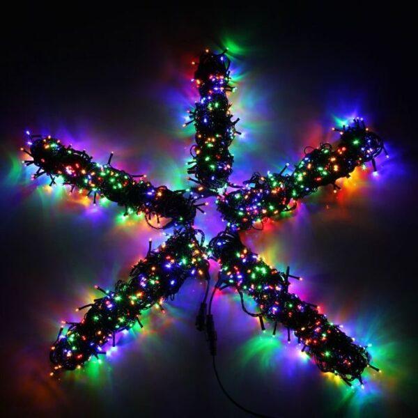 Гирлянда для деревьев LED-BS-200*5-20M*5-M Мощность 60 Вт Длина 20м Напряжение 24 Цвет мульти